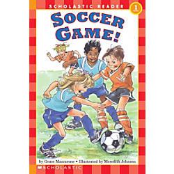 Scholastic Reader Level 1 Soccer Game