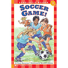 Scholastic Reader Level 1 Soccer Game