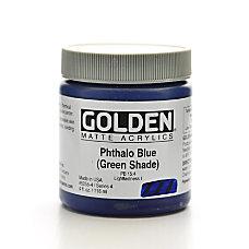 Golden Matte Acrylic Paint 4 Oz