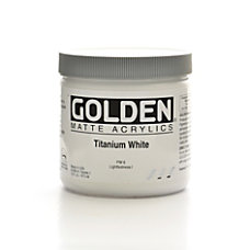 Golden Matte Acrylic Paint 16 Oz