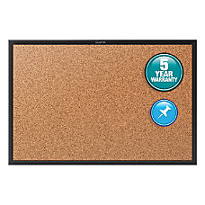 Quartet Cork Bulletin Board 6 x