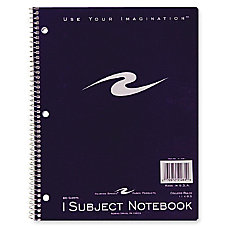 Roaring Spring 1 Subject Notebook 80