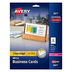 Avery Laser Clean Edge Two Side