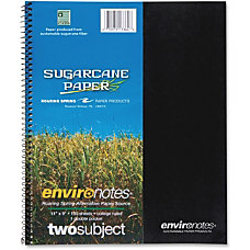 Roaring Spring 2 Subject Wirebound Notebook