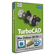 TurboCAD Mac Deluxe 2D3D v9 Download
