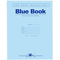 Roaring Spring Examination Blue Book 8