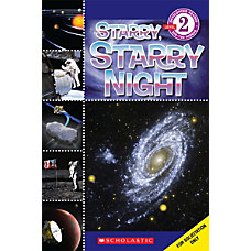Scholastic Reader Level 2 Starry Starry