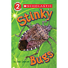 Scholastic Reader Level 2 Stinky Bugs