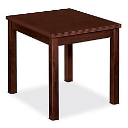 Basyx Veneer Occasional End Table 20