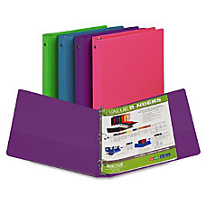 Samsill Fashion Assorted Value Storage Binder