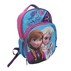 Disney Girls Backpack With Organizer Frozen