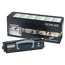 Lexmark 24060SW Black Toner