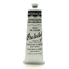 Grumbacher P250 Pre Tested Artists Oil