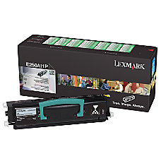 Lexmark E250A41G Black Toner Cartridge