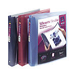 Avery Silhouette View Flexible Binder with