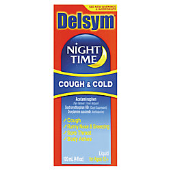 Night time cough in adults