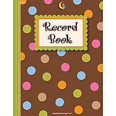 Creative Teaching Press Record Book Dots