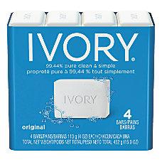 Ivory Bar Soap Original Scent 4