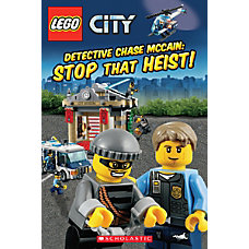 Scholastic Reader Lego City Detective Chase