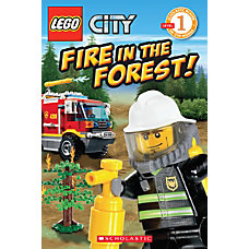 Scholastic Reader Lego City Fire In