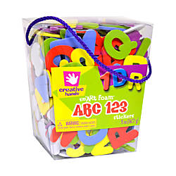 Creative Hands Glitter Sticker Bucket ABCs