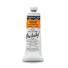 Grumbacher P035 Pre Tested Artists Oil