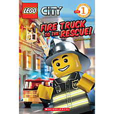 Scholastic Reader Lego City Fire Truck