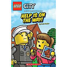 Scholastic Reader Lego City Help Is