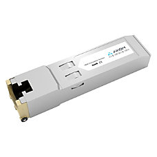 Axiom 1000BASE T SFP Transceiver for
