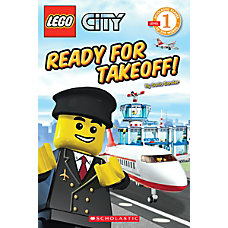 Scholastic Reader Lego City Ready For