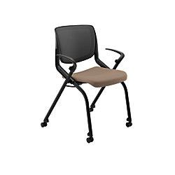 HON Motivate NestingStacking Flex Back Chair MorelBlack By Office Depot