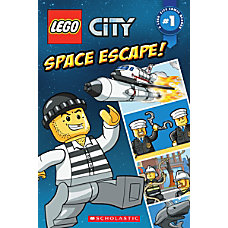 Scholastic Reader Lego City Space Scape
