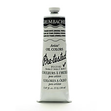 Grumbacher P212 Pre Tested Artists Oil