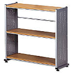 Mayline Eastwinds Accent Bookcase 3 Shelf