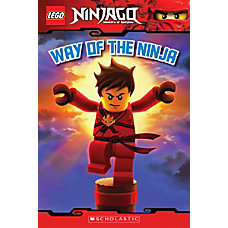 Scholastic Reader Lego Ninjago 1 Way