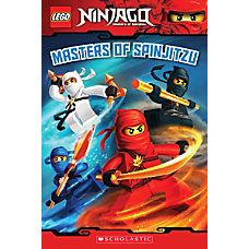 Scholastic Reader Lego Ninjago 2 Masters