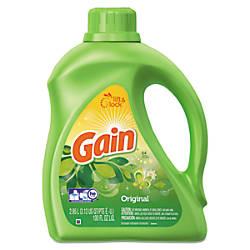 Gain Liquid Laundry Detergent Original Scent
