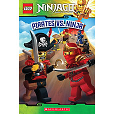Scholastic Reader Lego Ninjago 6 Pirates