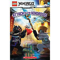 Scholastic Reader Lego Ninjago 8 Attack