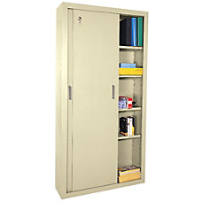 Sandusky Sliding Door Storage Cabinet 72