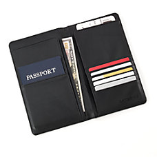 Samsonite Passport Travel Wallet Black