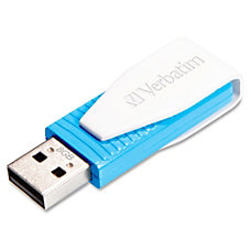 Verbatim 8GB Swivel USB Flash Drive