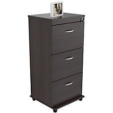 Inval Laminate Vertical Filing Cabinet 3