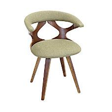 Lumisource Gardenia Chair GreenWalnut