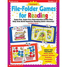 Scholastic Instant File Folder Games For