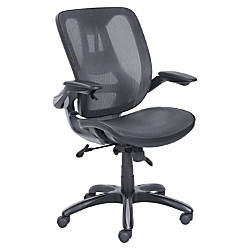 Lorell Mesh Back Task Chair Black
