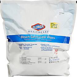 Clorox Healthcare Bleach Germicidal Wipes Refill
