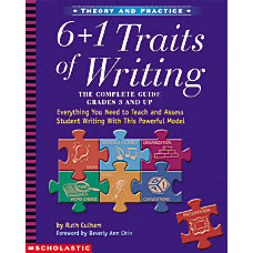 Scholastic 6 1 Traits Of Writing