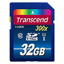 Transcend 32 GB SDHC