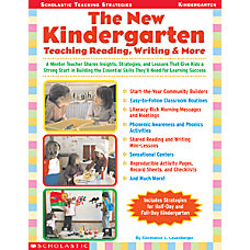 Scholastic The New Kindergarten Teaching Reading